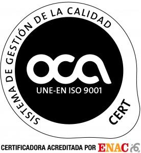 OCA 2012 9001 ENAC